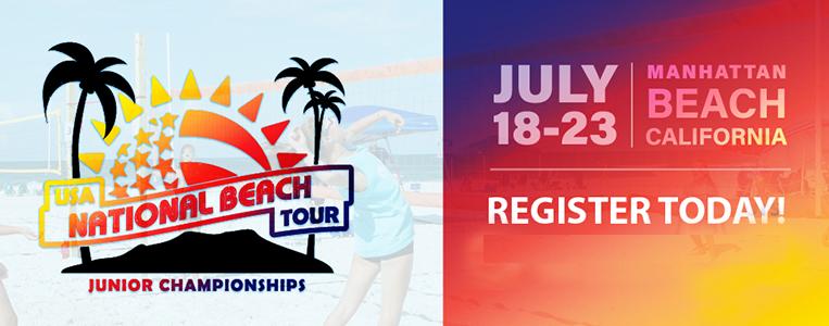 USA National Beach Tour - Junior Championships @ Manhattan Beach