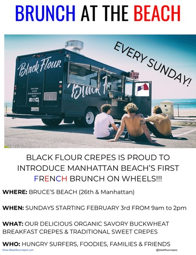 Black Flour Crepes Brunch at Bruce's Beach @ Bruce's Beach