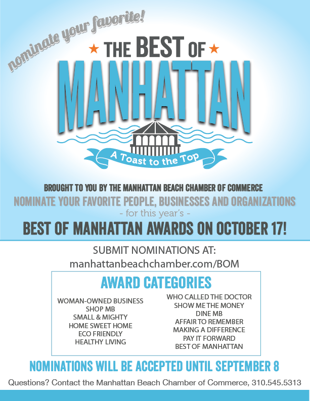 Best of Manhattan Beach Awards Party! @ Westdrift Hotel
