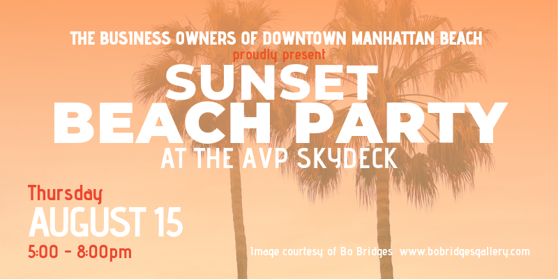 Sunset Beach Party at the AVP Skydeck @ The AVP Skydeck